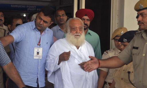 image: Indisk guru dømt til livstid for voldtekt av tenåring