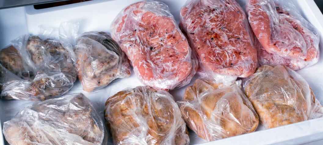 Så lenge kan svenskekjøttet fryses