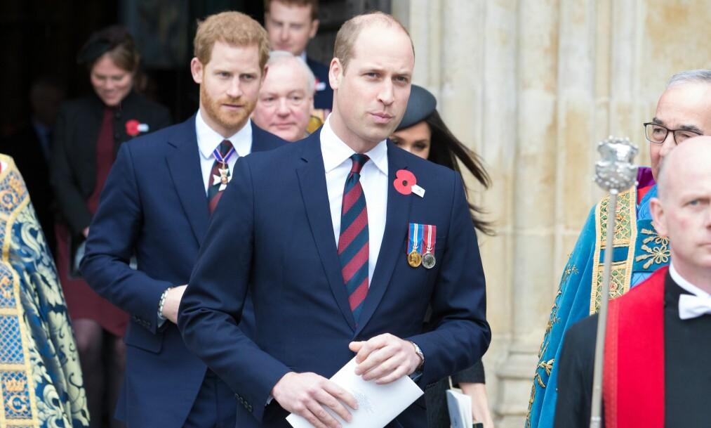 PLIKTENE KALLER: Kun dager etter at hans tredje barn ble født, stilte prins William opp på offisielt oppdrag. Foto: NTB Scanpix