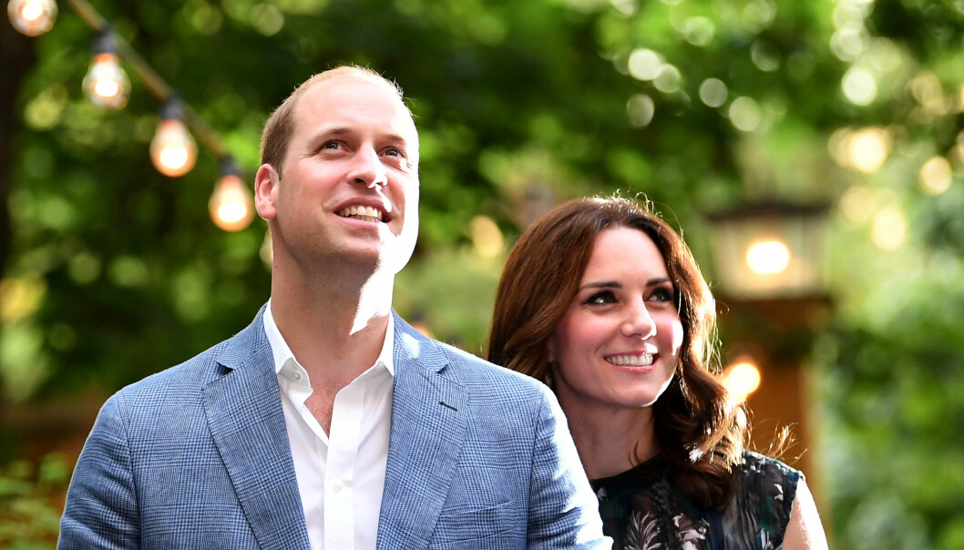 TREBARNSFORELDRE: Den lille prinsen er det kongelige parets tredje barn. Foto: REUTERS / Britta Pedersen