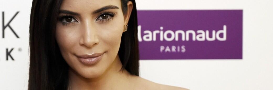 KRITIKKSTORM: Kim Kardashians nye promoteringskampanjen skaper furore. FOTO: Scanpix