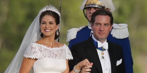 image: Avslører drama i kulissene på bryllupsdagen