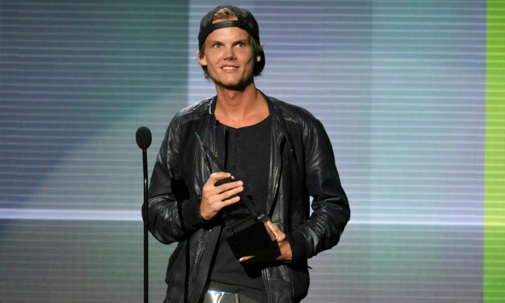BLE 28 ÅR: Den svenske EDM-artisten Tim Bergling, mer kjent som Avicii, ble funnet død 20. april. Foto: NTB Scanpix