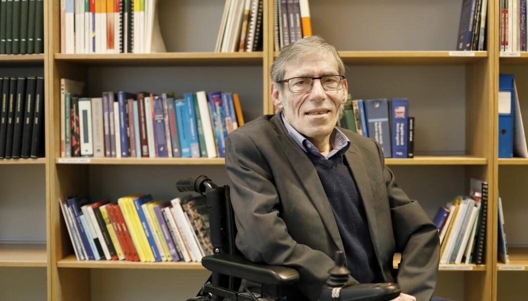 <strong>REISEVANT:</strong> At Gunnar Buvik (60) sitter i rullestol har aldri stoppet ham fra å reise verden rundt med fly. Han har satt seg godt inn i hvordan han skal få ekstra hjelp av personell. Få tipsene hans i artikkelen under. Foto: Ivar Kvistum, Handikapnytt.