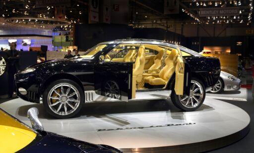 image: SUV-luksus: Spyker setter Cayenne turbo på plass