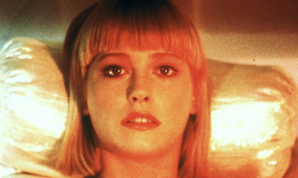 DØD: Skuespiller Pamela Gidley er død, kun 52 år gammel. Her er hun i filmen «Cherry 2000», fra 1987. Foto: Foto: Heritage/ Kpa/ NTB scanpix