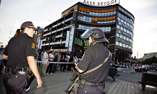 FIKK NOK: Etter skyteepisoden på Aker Brygge i 2006 startet Oslo-politiet et gjengprosjekt. Foto: Anders Grønneberg