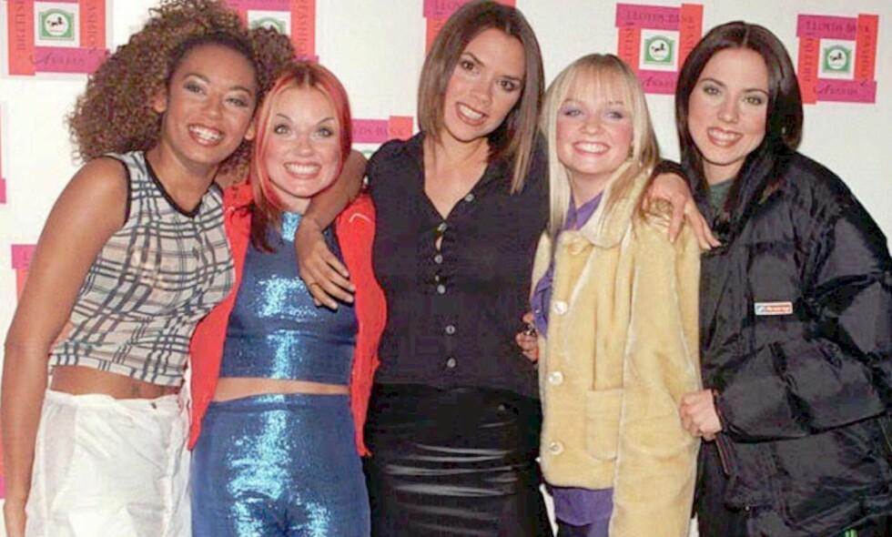 STORE SPEKULASJONER: The Sun hevder at Spice Girls førstkommende mandag skal kunngjøre at de skal på turné sammen. Foto: NTB scanpix