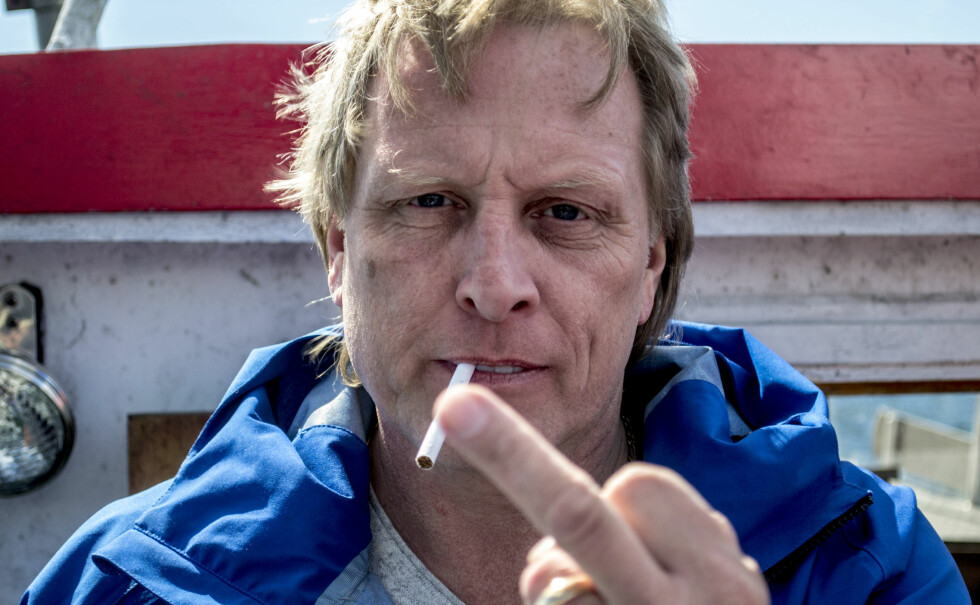 STÅR I STORMEN: Sig Hansen åpner opp om livet til sjøs, familien, tv-suksessen og personlige tap. Dagbladet møtte nylig kapteinen i norske farvann. Foto: Ørjan Rydland / Dagbladet