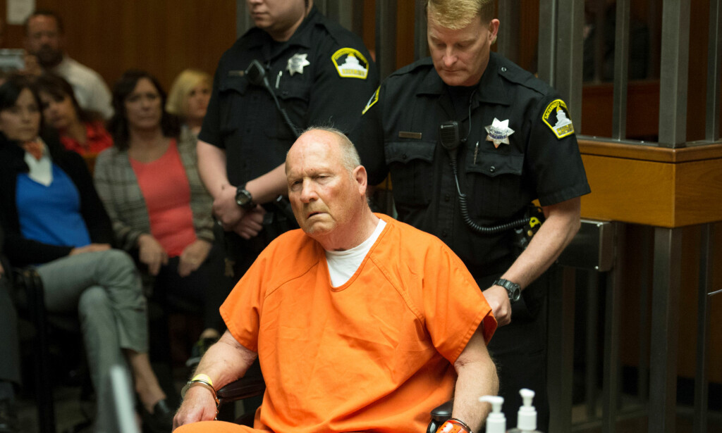 SIKTET: Politiet mener Joseph James DeAngelo (72) er «The Golden State killer». Foto: Sacramento Bee/Randy Pench/Pool via REUTERS