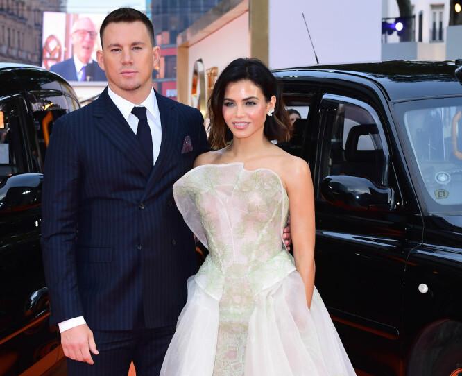 SKILLES: Channing og Jenna var et av Hollywoods heteste par. Foto: NTB Scanpix