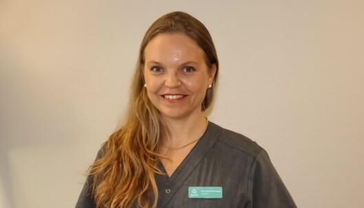 HUDLEGE: Mari Skyldstad Kvernebo er spesialist i hud- og veneriske sykdommer ved Aleris Strømmen. FOTO: Aleris Helse