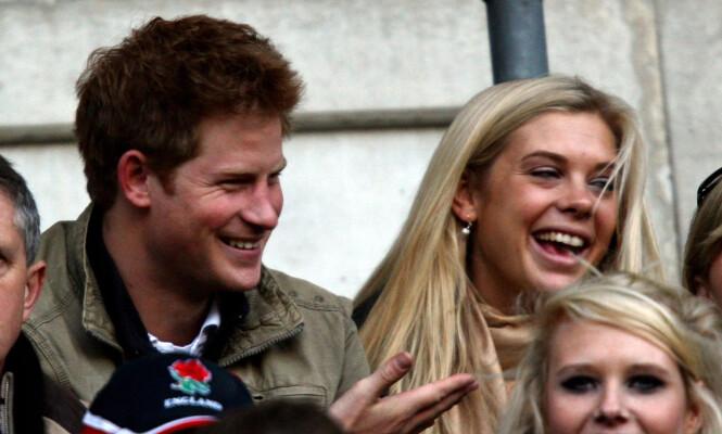 GODE VENNER: Prins Harrys ekskjæreste, Chelsy Davy, skal ha fått en invitasjon til bryllupet. Foto: NTB Scapix