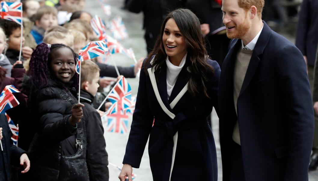 SNART GIFT: Om drøye to uker kan Meghan Markle og prins Harry kalle hverandre ektefeller. Foto: NTB Scanpix