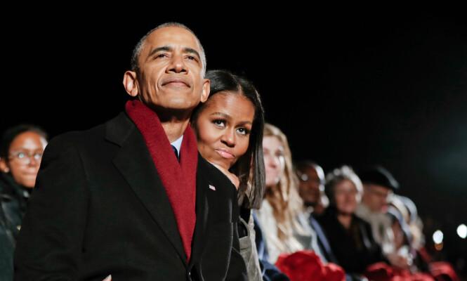 IKKE INVITERT: Det ble lenge spekulert i om Obama-familien skulle bli invitert i bryllupet. Dette avkreftet det britiske hoffet. Foto: AP / Pablo Martinez Monsivais