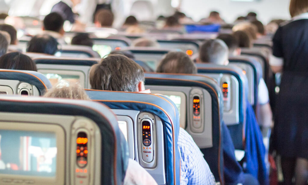 image: Ingen er så hatet som disse flypassasjerene