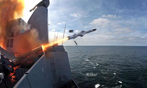 image: Norske rakettmotorer med på sjøblokaden av Jemen