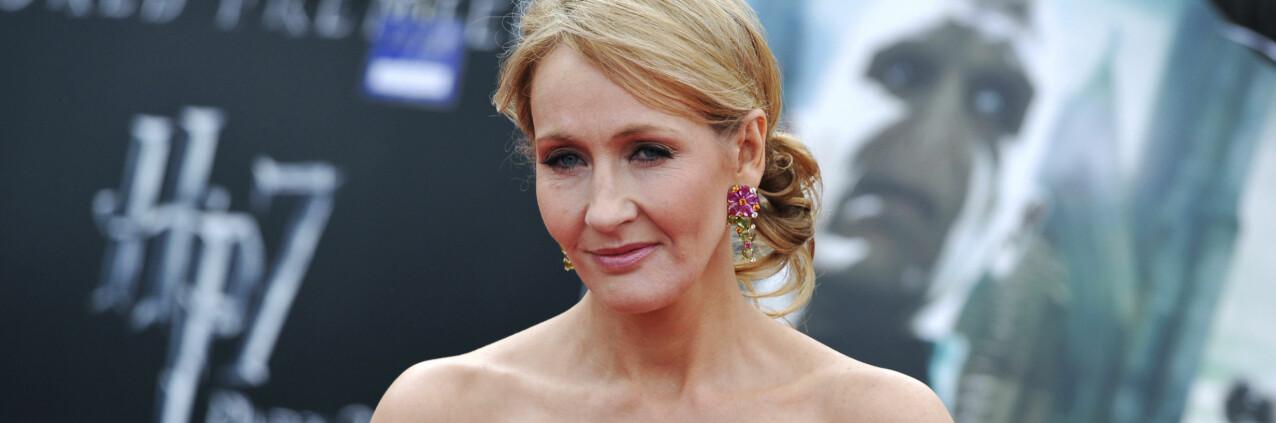 VERDENSKJENT: J. K. Rowling ble et kjent fjes etter at «Harry Potter»-bøkene tok helt av på 90-tallet. FOTO: Scanpix