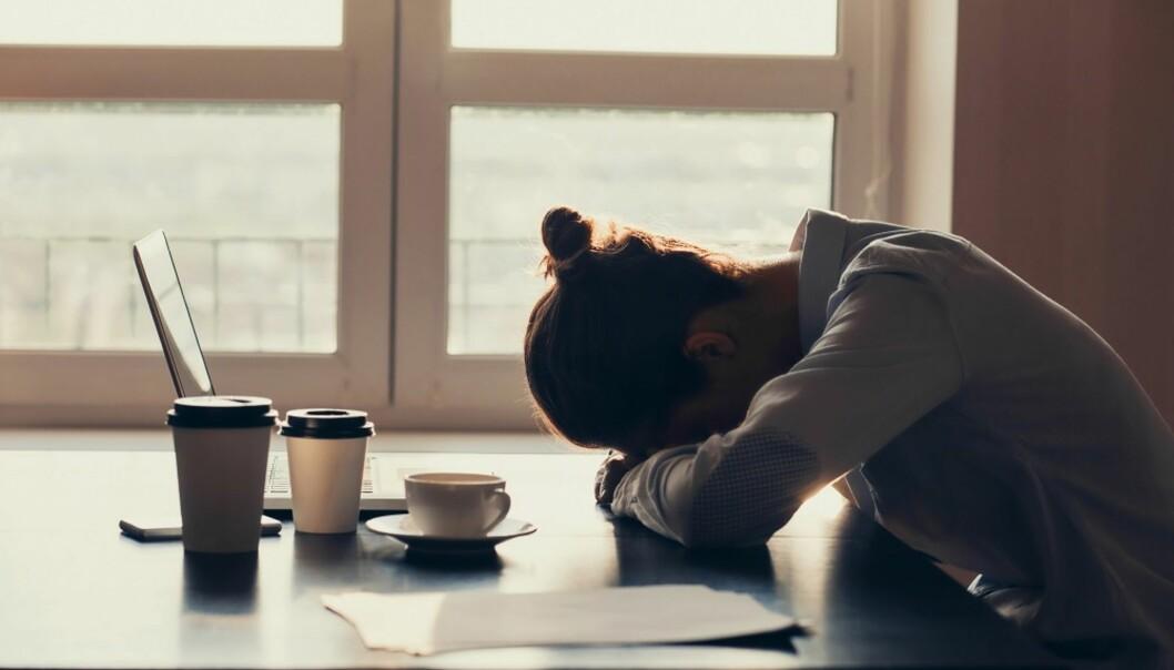 <strong>FRUSTRASJON:</strong> Underliggende problemer kan føre til konflikter på jobb. FOTO: Shutterstock