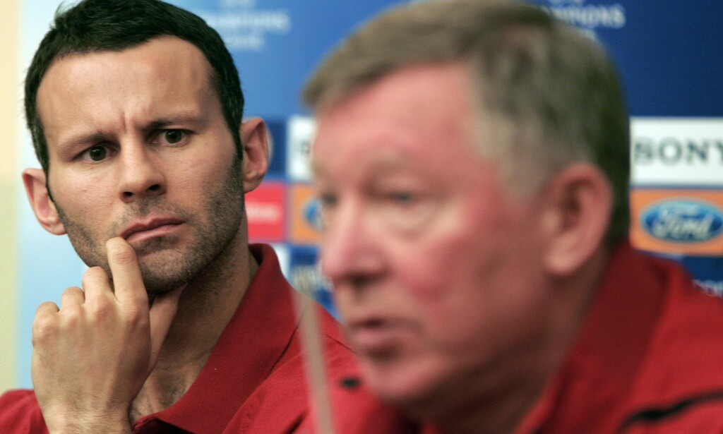 BER FOR MANAGEREN: Ryan Giggs spilte lenge under Alex Ferguson. Foto: REUTERS/Dario Pignatelli