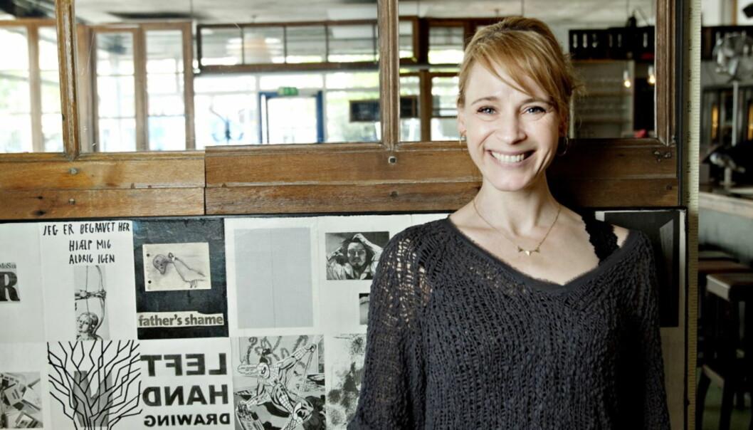 FORTELLER OM KOLLAPSEN: Den danske skuespilleren Iben Hjejle, kjent fra TV-seriene «Dag» og «Dicte», forteller at hun er glad kroppen sa fra. FOTO: Kristian Ridder-Nielsen / Dagbladet