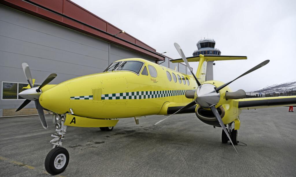 PÅ BAKKEN: Og skulle flere piloter rømme fra Lufttransport AS, kan enda flere ambulansefly bli vingeklippet. Foto: Rune Stoltz Bertinussen / NTB scanpix