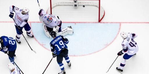 image: Olimb: – Finnene ga oss en god dose hockeyleksjon