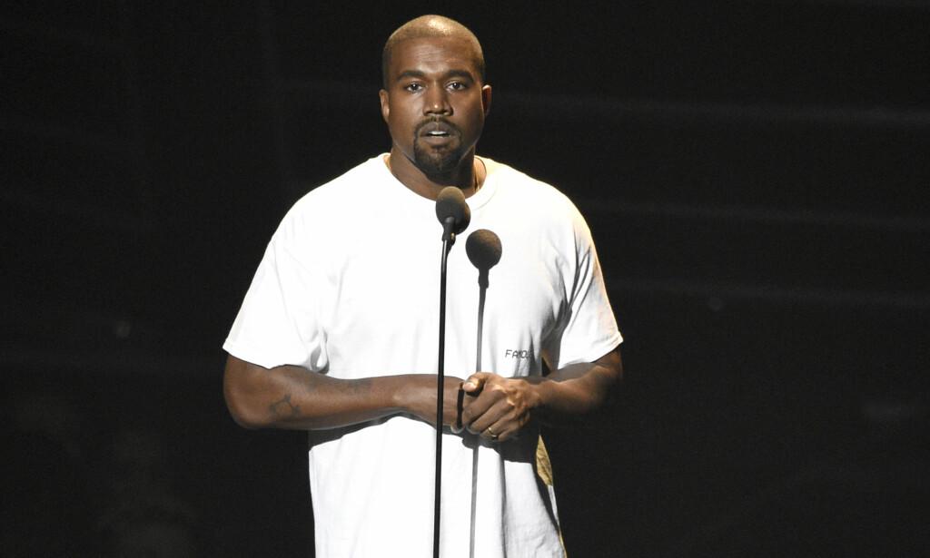 Ifølge Dagens Næringsliv er lyttertallene til Kanye West (bildet) blitt manipulert i strømmetjenesten Tidal. Tidal benekter påstandene. Foto: Chris Pizzello/Invision/AP/NTB scanpix.