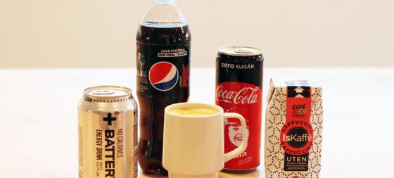 Koffein kan føre til overvektige barn