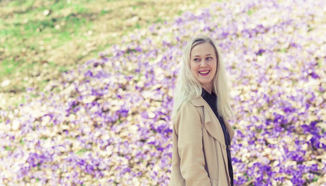 NY VÅR: Med våren kom håpet og lyset igjen, Ingvild Lothe har det bra i dag. FOTO: Astrid Waller