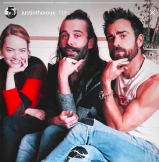 FOTO: Skjermdump fra Justins Instagram Story
