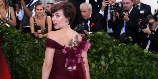 Én detalj vakte oppsikt ved filmstjernens kjole