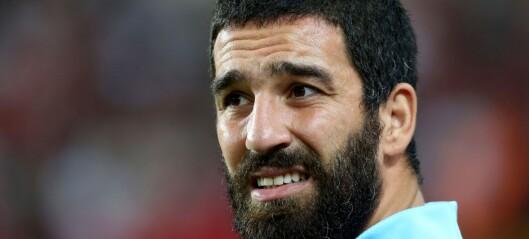 Tyrkias største fotballstjerne risikerer over 12 år i fengsel