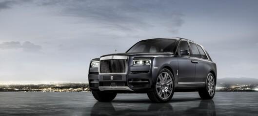 SUV-enes Rolls-Royce