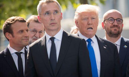 image: Trump åpnet NATO-møtet med kraftsalve