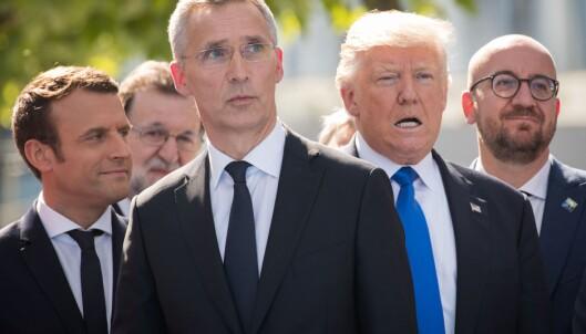 Trump åpnet NATO-møtet med kraftsalve