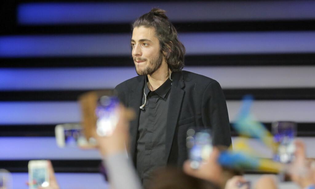 TRØBBEL: Portugisiske Salvador Sobral stakk av med seieren i fjorårets Eurovision, men tida som fulgte har vært alt annet enn eventyrlig for 28-åringen. Foto: NTB scanpix