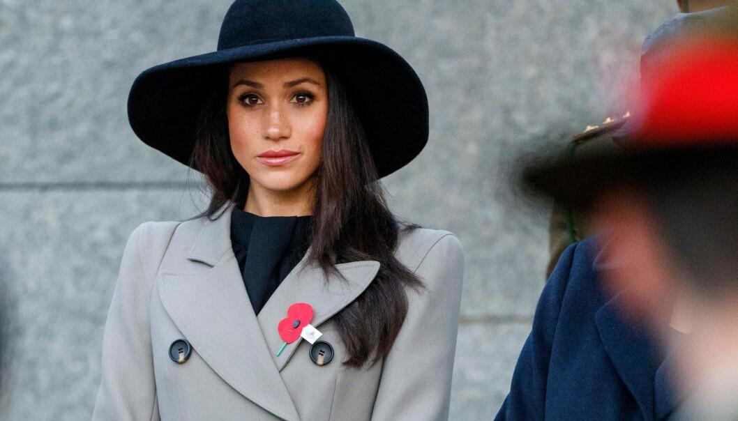 BEKREFTER: Meghan Markle bekrefter i en uttalelse via Kensington Palace at faren ikke skal delta i bryllupet. Foto: NTB Scanpix