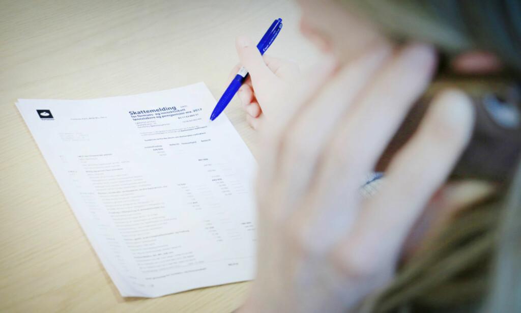 Husk riktig konto for skattepengene: - Tirsdag er siste frist for å endre kontonummer i ...