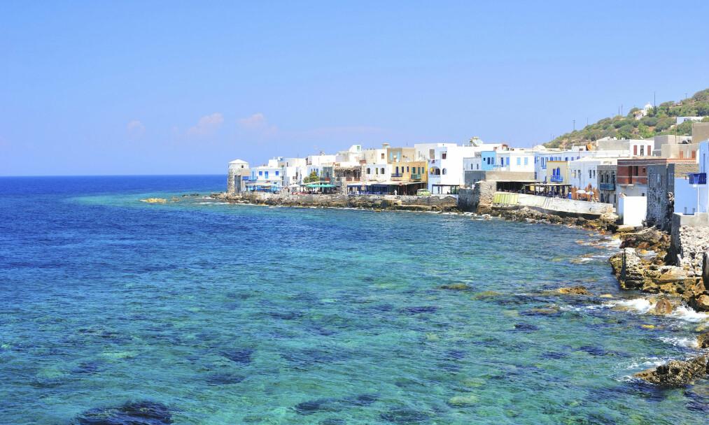 NISYROS: Havnebyen Mandraki er kompakt, men innenfor er det et lite univers som er større enn en skulle tro. FOTO: NTB Scanpix
