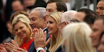 image: Derfor sendte Trump datteren til Jerusalem