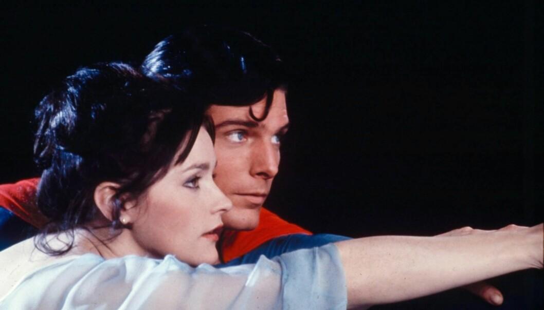 <strong>KJENT ROLLE:</strong> Margot Kidder i rollen som Lois Lane i filmen fra 1978. Foto: NTB scanpix