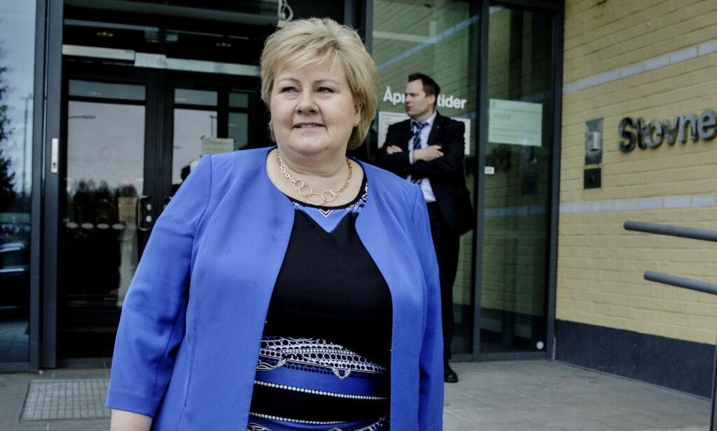 image: Er rettssystemet bare for de rikeste, Erna Solberg?
