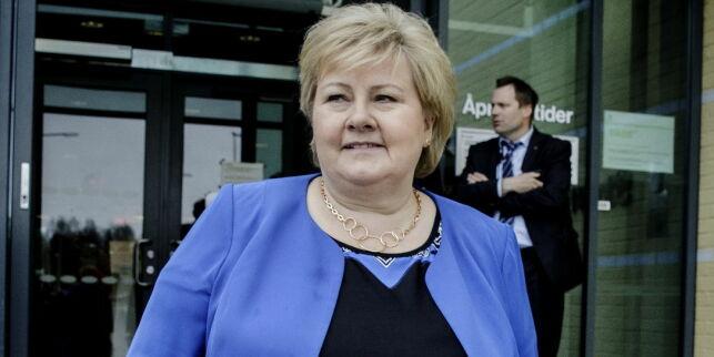 image: Solberg åpner EØS-døra for Storbritannia