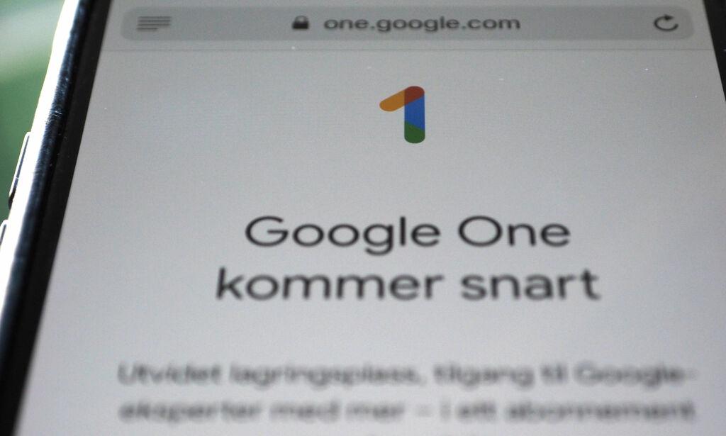 Dette må du vite om Googles nye lagringstjeneste