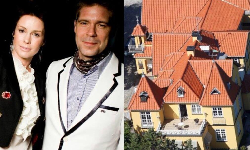 <strong>FÅR IKKE SOLGT:</strong> Lene Nystrøm og Søren Rasted har beholdt vennskapet ett år etter at de bestemte seg for å skilles. Men slottet deres har de fortsatt ikke fått solgt. Foto: NTB scanpix/ Se og Hør Danmark