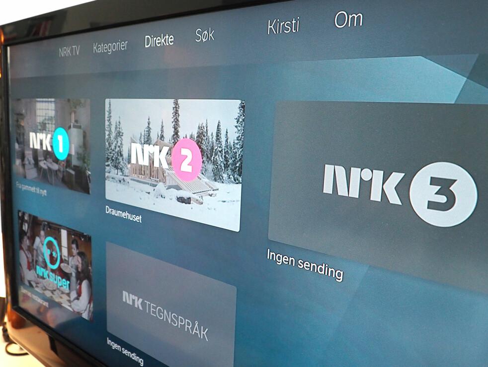<strong>NRK PÅ NETT:</strong> Du kan se programmene som allerede ligger på nett-TV, under streiken. Foto: Kirsti Østvang