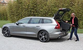 image: Første test i Norge: Nye Volvo V60