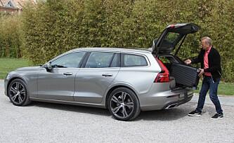 Første test i Norge: Nye Volvo V60