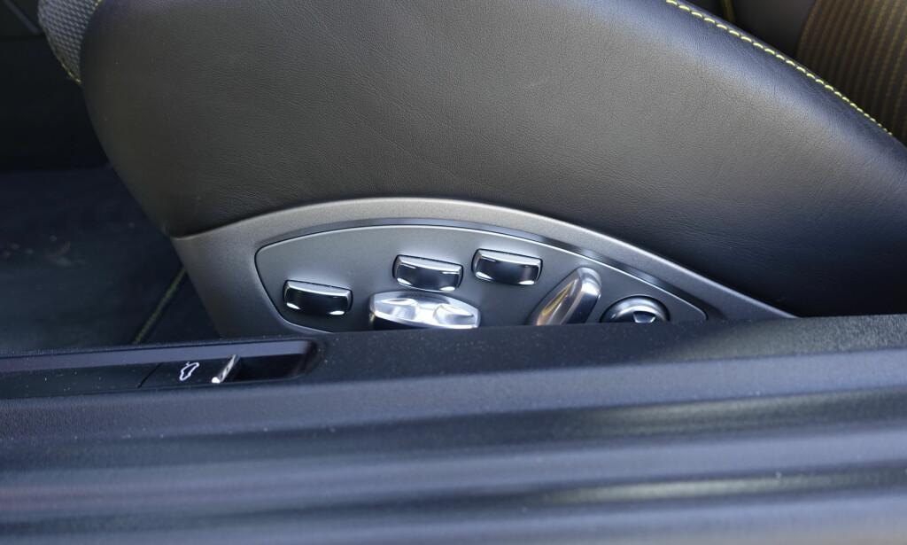 ALLE RETTIGHETER: 16-veis elektriske bøttestoler er for første gang introdusert i Carrera. Foto: Rune M. Nesheim